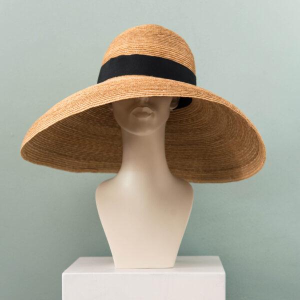 Big Straw Stitched Summerhat – Kopie – Kopie