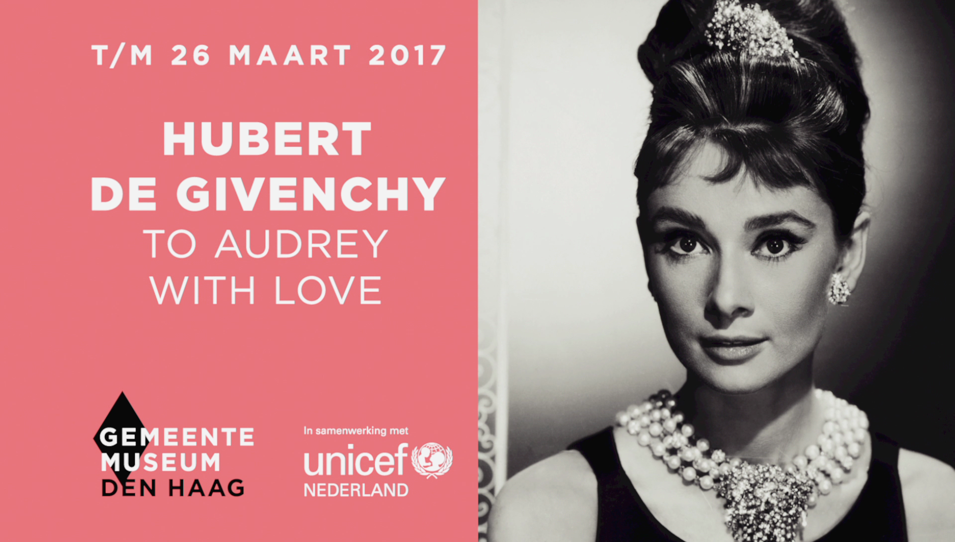 To Audrey With Love – Gemeentemuseum Den Haag