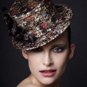 Flowered Tophat