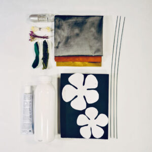 Material For Online Silk Flower Workshop