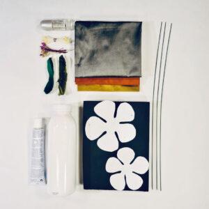 Material For Online Silk Flower Workshop