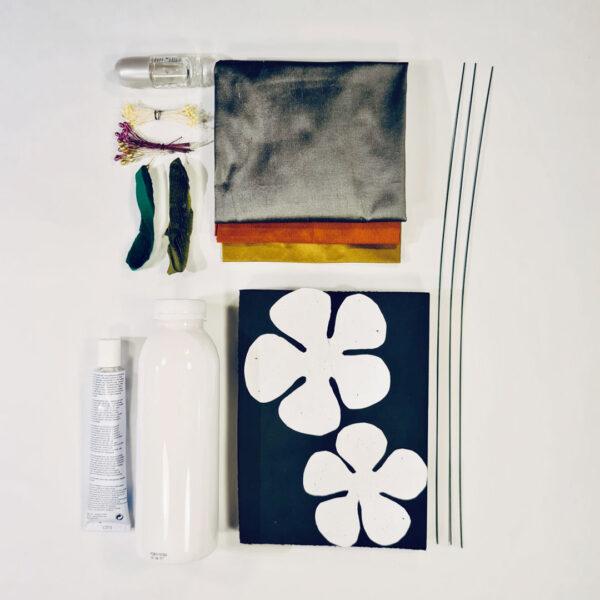 Material For Silk Flower Making